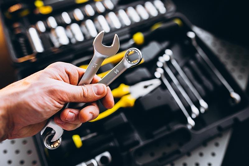 caisse à outils clés de 13
